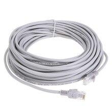 15/20/25/30 m Высокая Скорость RJ45 Ethernet кабельной сети LAN Кабельный маршрутизатор компьютер с плоским Cat5 сетевые кабели