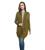 Estilo primavera Outono Mulheres Cor Sólida Longo Estilo Plus Size Ocasional Cardigan De Malha Camisola Oversize Cachecol Gola ombro Queda