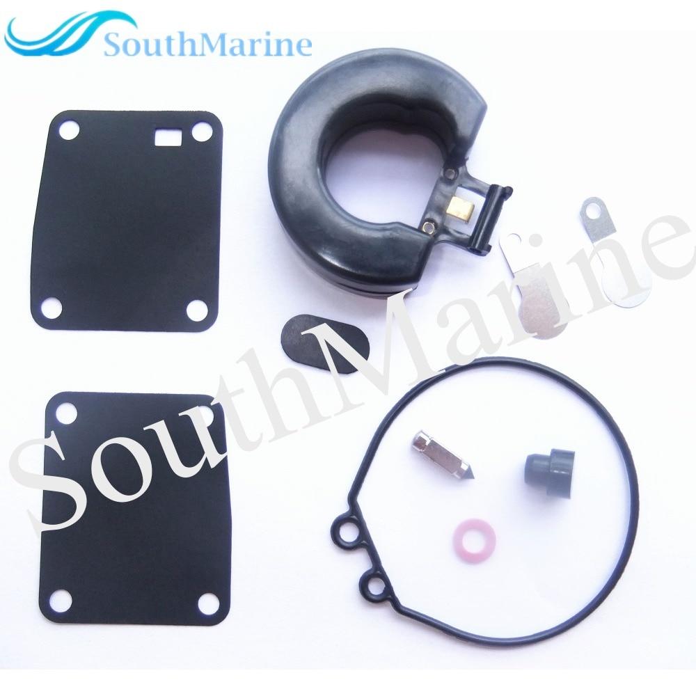 Carburator Repair Kit for Tohatsu Nissan 2-Stroke 9.8HP 8HP 5HP 4HP Outboard Motor 369-87122-1 359087122-1 369-871221 harley davidson headlight price