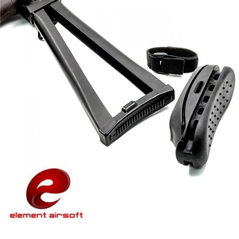 Element Airsoft tactique antichoc en caoutchouc AK Stock Pad AK47 recul bout à bout Pad Paintball fusil pistolet accessoires OT0401