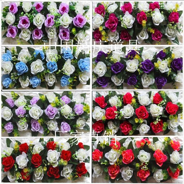 Heisser Verkauf Kunstliche Rosenbogen Strasse Blumen Hochzeit