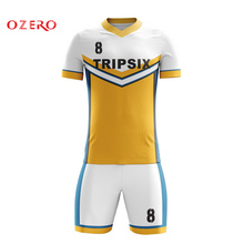 d07a60f3613 orange and black football jersey custom sublimation printing soccer jersey( China)