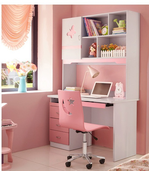 Escritorio muebles en melamina para ni a casa dise o for Muebles dormitorio nina