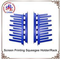 Spe GBJ Screen Printing Squeegee Holder Rack Silk Screen Printing