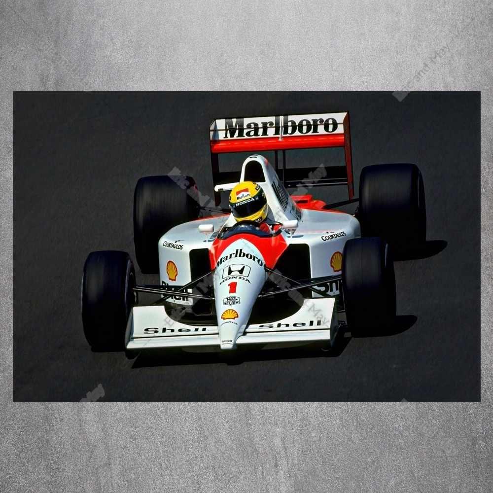 F1 سباق السيارات الحديثة الزخرفية جدار صور لغرفة المعيشة قماش اللوحة الفن لا الإطار الملصقات والمطبوعات ديكور المنزل