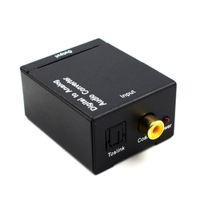 Image 3 - Optical Coaxial Toslink Digital to Analog Audio Converter Adapter RCA L/R 3.5mm