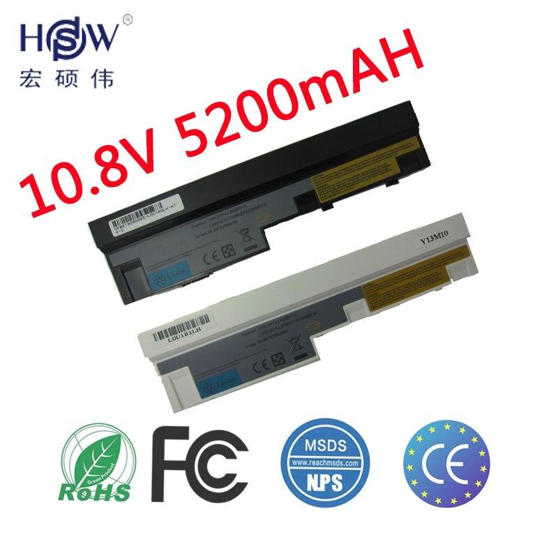 HSW 5200 mAh 11,1 V batería del ordenador portátil para Lenovo IdeaPad S100 S10-3 S205 S110 U160 S100c S205s U165 L09S6Y14 L09M6Y14 6 células