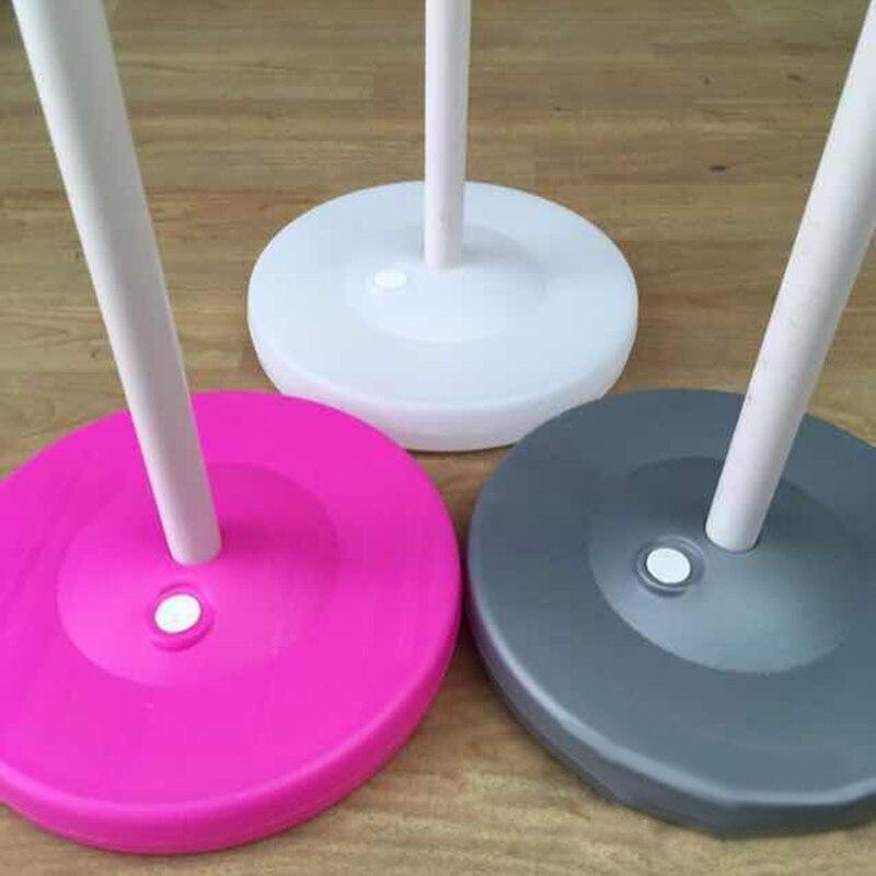 23x3cm Hole2cm Dik Balon Baza Plastik Balon Sütun Bəy Toy - Şənlik aksesuarları - Fotoqrafiya 2