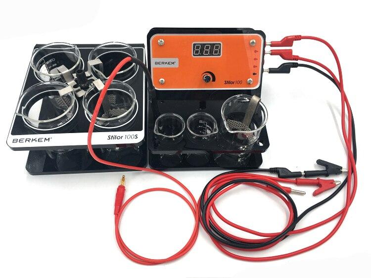 Outils de bijoux 220 V Machine de placage à l'or METALTECH STILOR 100 et 100 S Berkem système de placage stylo machine de placage