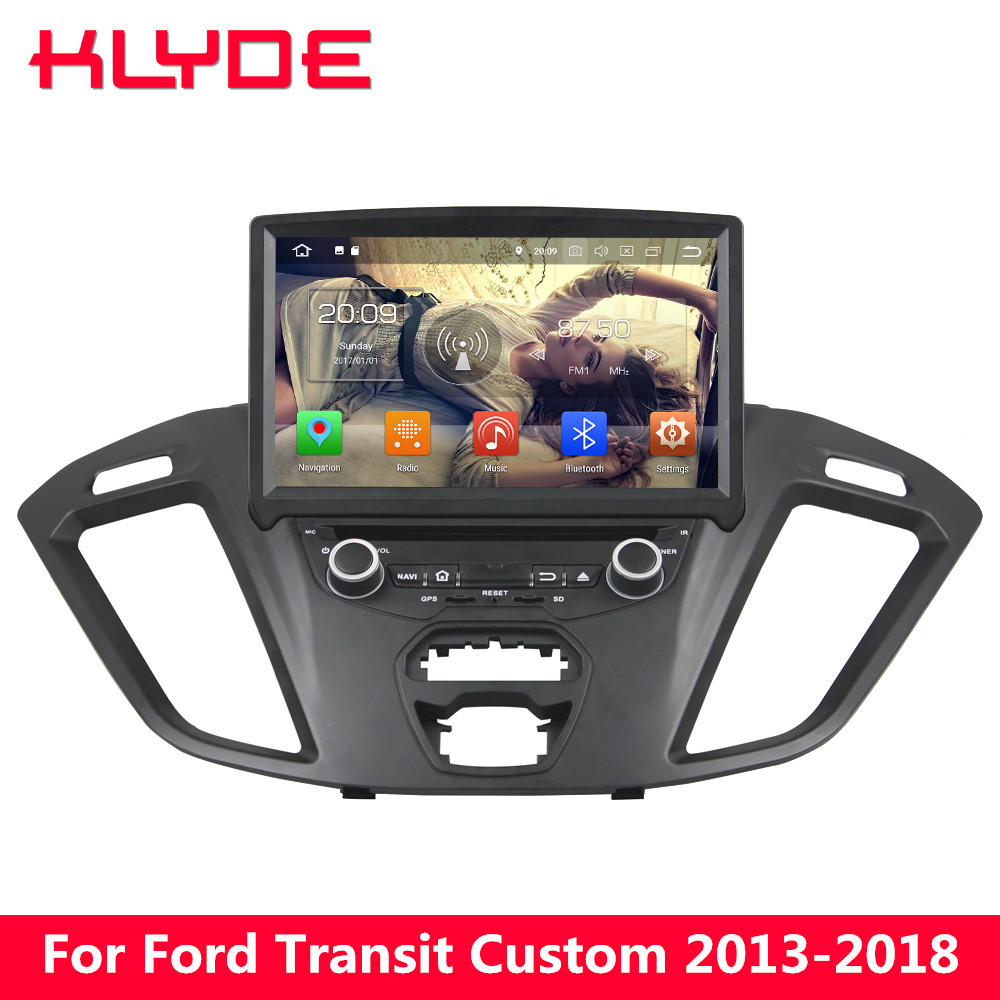 KLYDE 8 4G Android 8 7.1 Octa Core 4GB RAM 32GB ROM Car DVD Player Stereo For Ford Transit Custom 2013 2014 2015 2016 2017 2018 klyde 8 4g android 8 7 1 octa core 4gb ram 32gb rom car dvd player stereo for ford transit custom 2013 2014 2015 2016 2017 2018