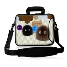 Fuzzy Ball Laptop Shoulder Bag Carry Case Cover For 10″ 11.6″ 13″ 13.3″ 14″ 15.6″ 15″ 17″ 17.3″ Laptop Tablet