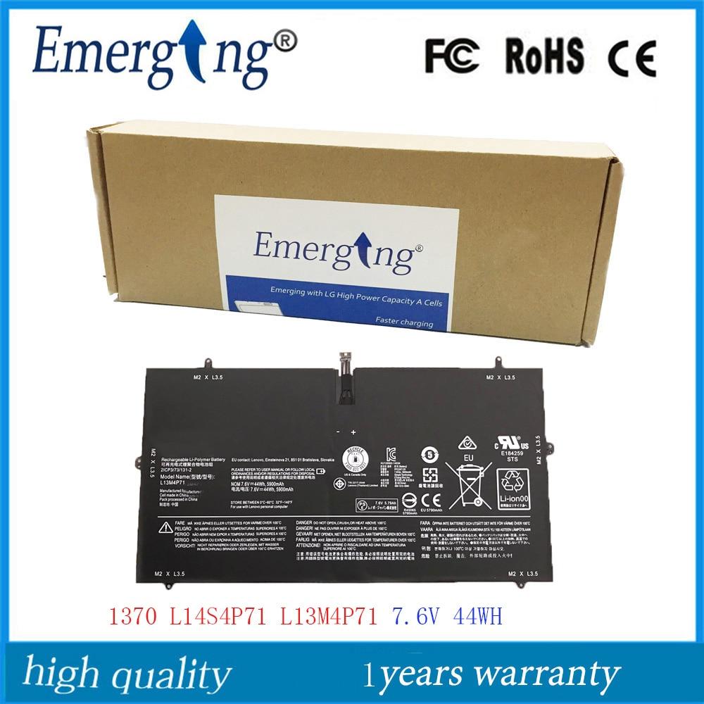 7.6V 44Wh New  Original  L13M4P71 Laptop Battery For Lenovo YOGA 3 PRO  L14S4P71 1370 Pro-5Y71 Pro-I5Y51 Pro-I5Y70 Pro-I5Y71