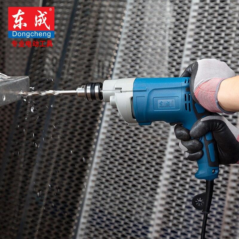Ipari 500W kézi elektromos fúró 0-1750 ford / perc elektromos - Elektromos kéziszerszámok - Fénykép 2