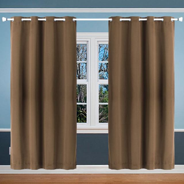 LanLan Solid Blackout Curtains for Window Treatments