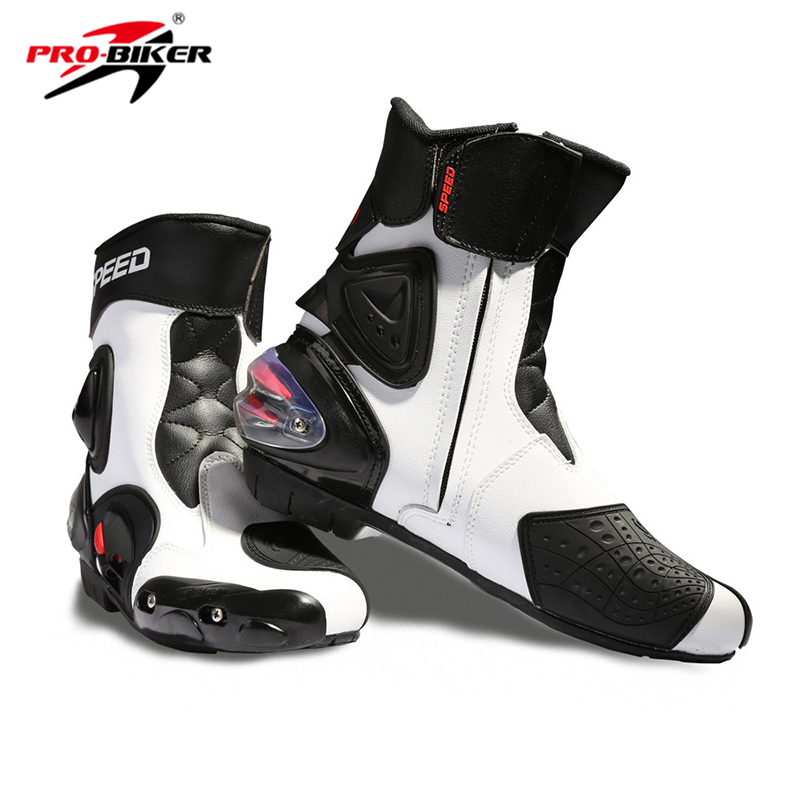 Riding Tribe Motorcycle Boots professional Speed Microfiber Leather Motocross boots Riding sports road Motorboats куртка для мотоциклистов riding tribe