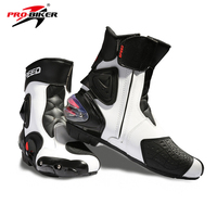 Riding Tribe Motorcycle Boots professional Speed Microfiber Leather Motocross boots Riding sports road Motorboats