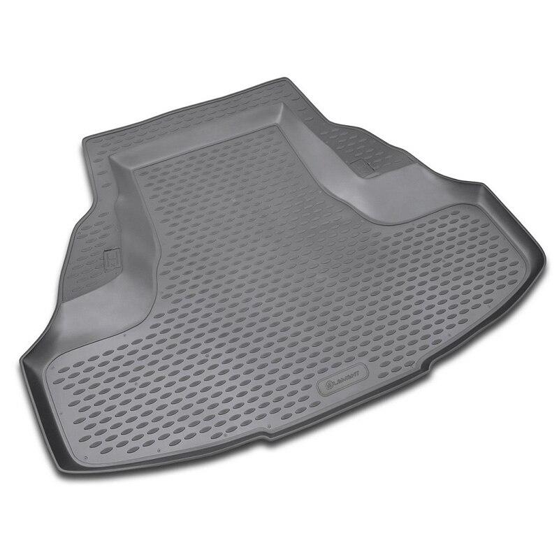 цены For Honda Accord sedan Rear Trunk Cargo Liner Boot Mat Floor Tray Carpet Mud Kick Protector Cover 2008 2009 2010 2011 2012 2013