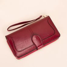 Women Lady Clutch Leather Wallet Wristlet Long Credit Card Holder Phone Bag Case Purse Handbag цена в Москве и Питере