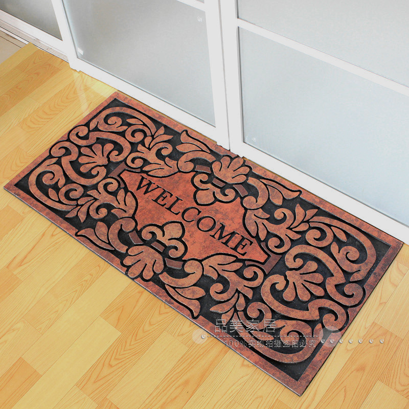 buy european style villas large door mats doormat non slip rubber mat outside the front door mat carpet rub the soil from reliable carpet