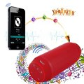 BQ - 615 Portable Dancing Colorful LED Bluetooth V3.0 Speaker with Flashing Lights 3.5mm Audio Port Support TF Card FM Radio