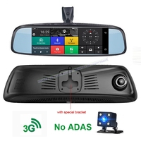 D30 6.86 4G ADAS Mirror DVR With Special Bracket Car Camera Android 5.1 GPS DVR with Two cameras WIFI Remote Video Recorder