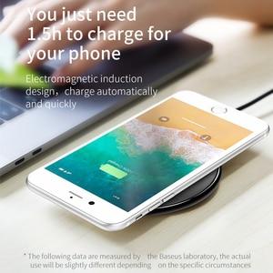 Image 3 - Baseus cargador inalámbrico Qi para móvil, Cargador USB de carga inalámbrica para iPhone 11, XS, MAX, 8 plus, Samsung S10, S9 Plus, Note 9, 8
