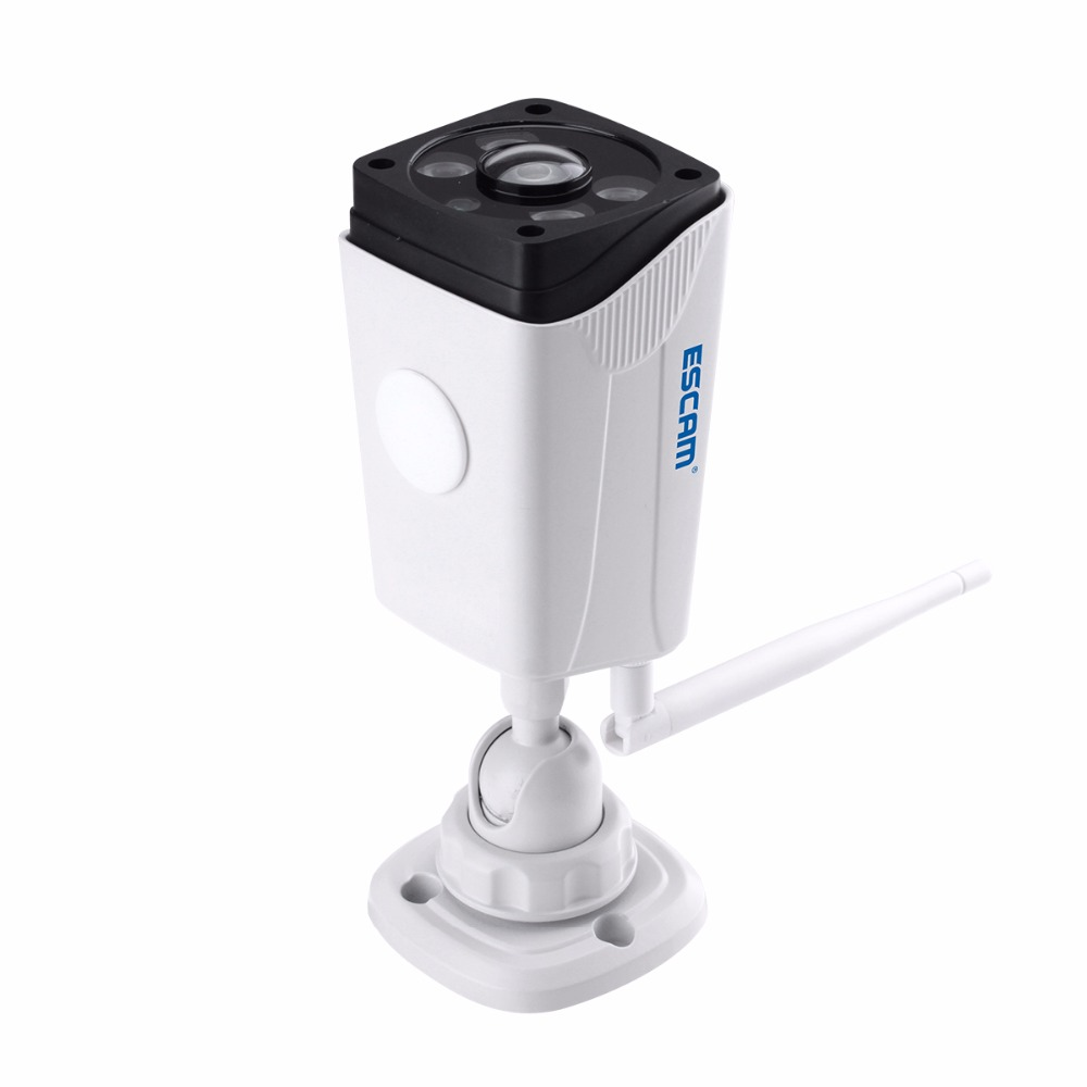 Escam Moon QP02 2MP 1080P WIFI Alarm Camera IP66 waterprrof Outdoor Bullet IR-Cut Wireless fisheye infrared Security ip Camera P