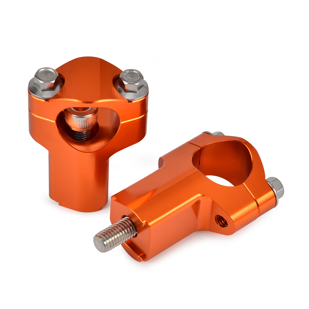for KTM 125 200 250 300 450 530 SX SXF EXC EXCF XCW XCFW XCW Xitomer 1-1//8 28mm CNC Handlebar Clamps Riser Orange