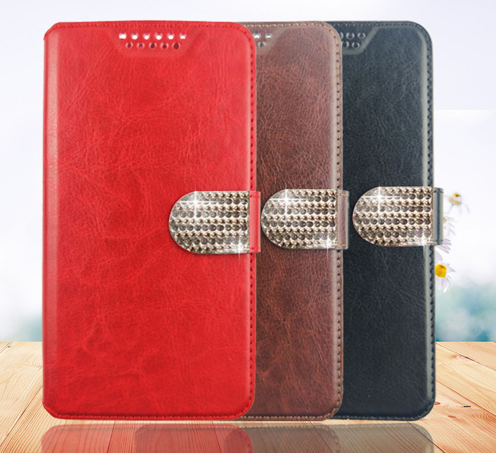 Luxury For General Mobile GM 5 GM5 Luxury PU Leather Back Cover Case For General Mobile GM 5 GM5 Case Flip Protective Phone Bag image