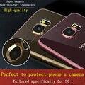 Ultra-fina e transparente TPU Soft case Para Samsung GALAXY S6 G9200/9208/9209 Alta qualidade Proteger câmera capa para GALAXY S6 borda