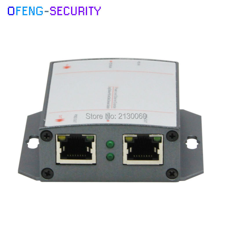Poe Extender, POE 10/100M Extender POE. The Distance Up To 100m, IEEE 802.3af(15.4W), 1 RJ45 Input, 2 RJ45 Output