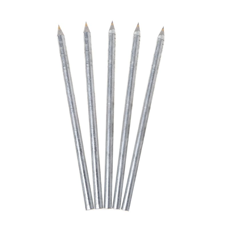 5pcs Diamond Glass Cutter Carbide Scriber Hard Metal Tile Cutting Lettering Pen Engraver Glass Knife Scriber Cutting Tool
