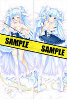 cirno's Store Original 2018 Yuki Miku Dakimakura vocaloid music girl anime Characters Hatsune Miku body Pillowcase pillow cover