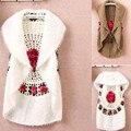 Caliente venta de la nueva moda alta calidad otoño invierno mujer de capa de ganchillo suéter chaleco de la rebeca ocasional mujeres suéter 1210