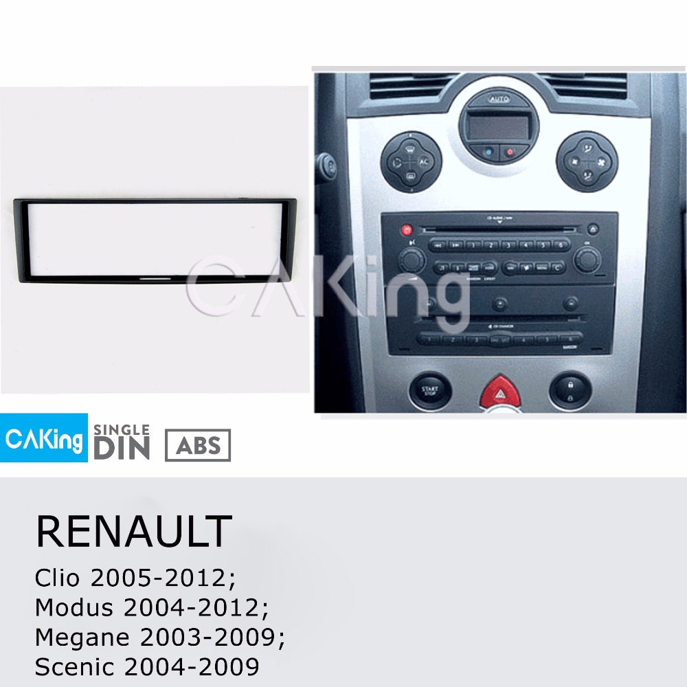 Chrysler 1 Din Single DIN Fascia Radio Stereo Replacement Kit Installation Kit