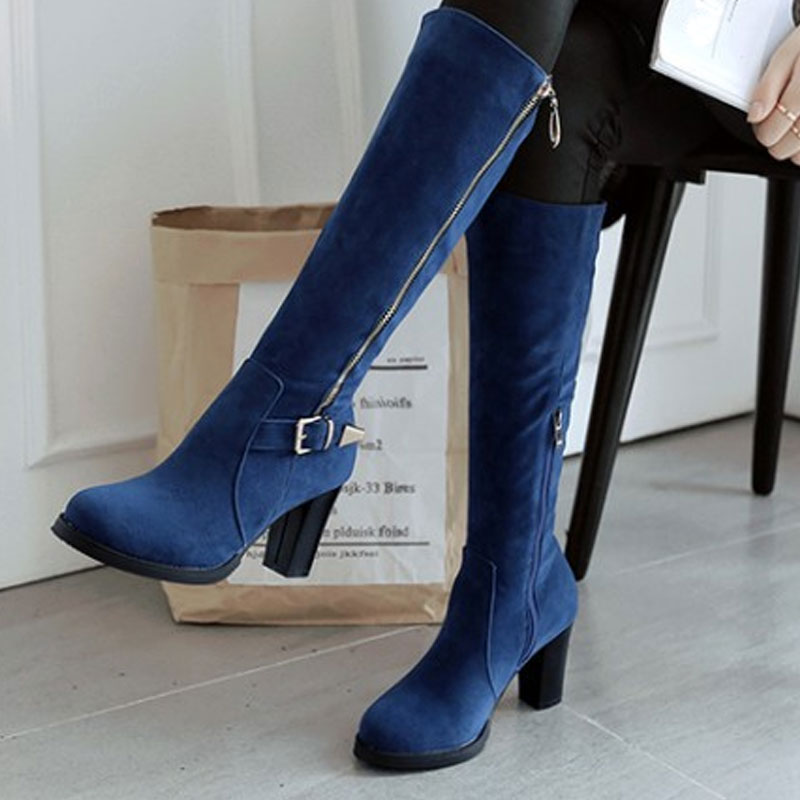 Plus size sexy boots