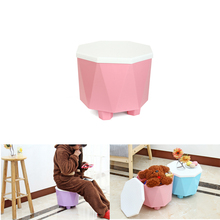 Can Be Superimposed Storage Field Bins Livingroom Multifunctional Stool Organiser For Clothes Meals