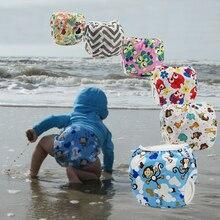 Детские подгузники для плавания, герметичный многоразовый регулируемый подгузник для маленьких мальчиков и девочек от 0 до 3 лет
