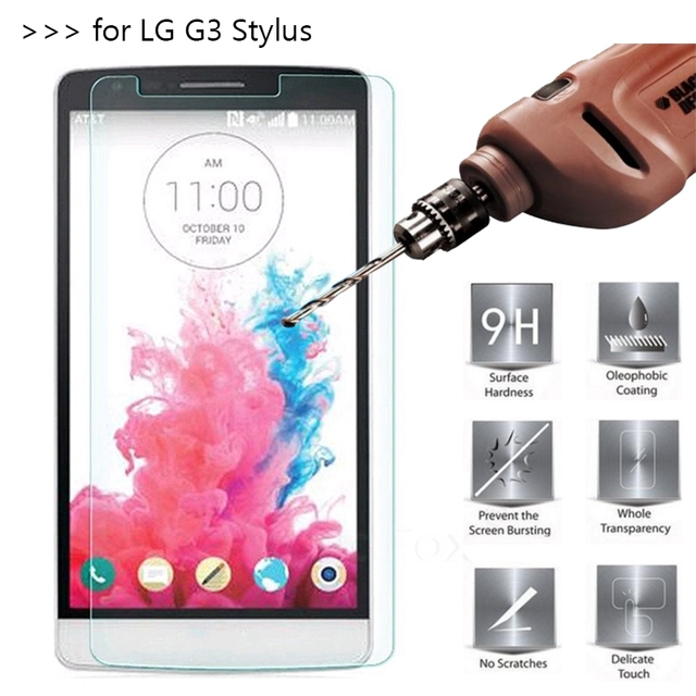 26e68fd4843 CHANHOWGP Tempered Glass for LG G3 Stylus D690 D690N Case Screen Protector  on G 3 Stylos g3stylus Cover Film Funda 2.5D 9H
