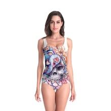 3D Print Summer women's clothing Swimsuit high quality Beach Style geometric Bodysuits