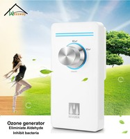 Eliminate Formaldehyde and Odor ceramic ozone generator 220v with Pet House Toilet