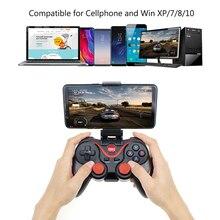 Terios T3 Joystick bezprzewodowy Gamepad kontroler do gier bluetooth BT3.0 Joystick dla telefonów komórkowych Tablet z funkcją telefonu TV, pudełko uchwyt na