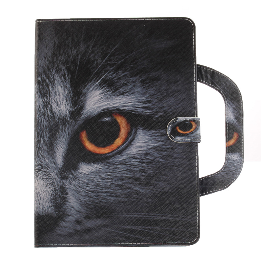 Stand Flip PU Leather Case For Samsung Galaxy Tab A 8.0 T350 T355 P350 P355 Cover Animal Cartoon Handbag Tablet Case+Film+Pen
