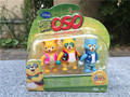 """Original Special Agent OSO DOTTY WOLFIE 3PCS 3"""" Action Figures New in Box"""