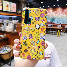 lovely pattern Graffiti skin case for iphone xs max xr x 8Plus 7 6S protector cover shell Protective Yellow duck Drop-proof стоимость
