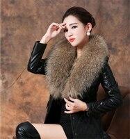 Golden Brown Raccoon Fur Collar Raccoon Fur Collar Racoon Fur Trim Real Raccoon Fur Scarf Neckwamer Shawl Wrap Removable Collar