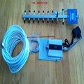 3G reforço de sinal DO TELEFONE MÓVEL, WCDMA 2100 mhz 3g repetidor de sinal amplificador com 9 unidade yagi conjunto completo