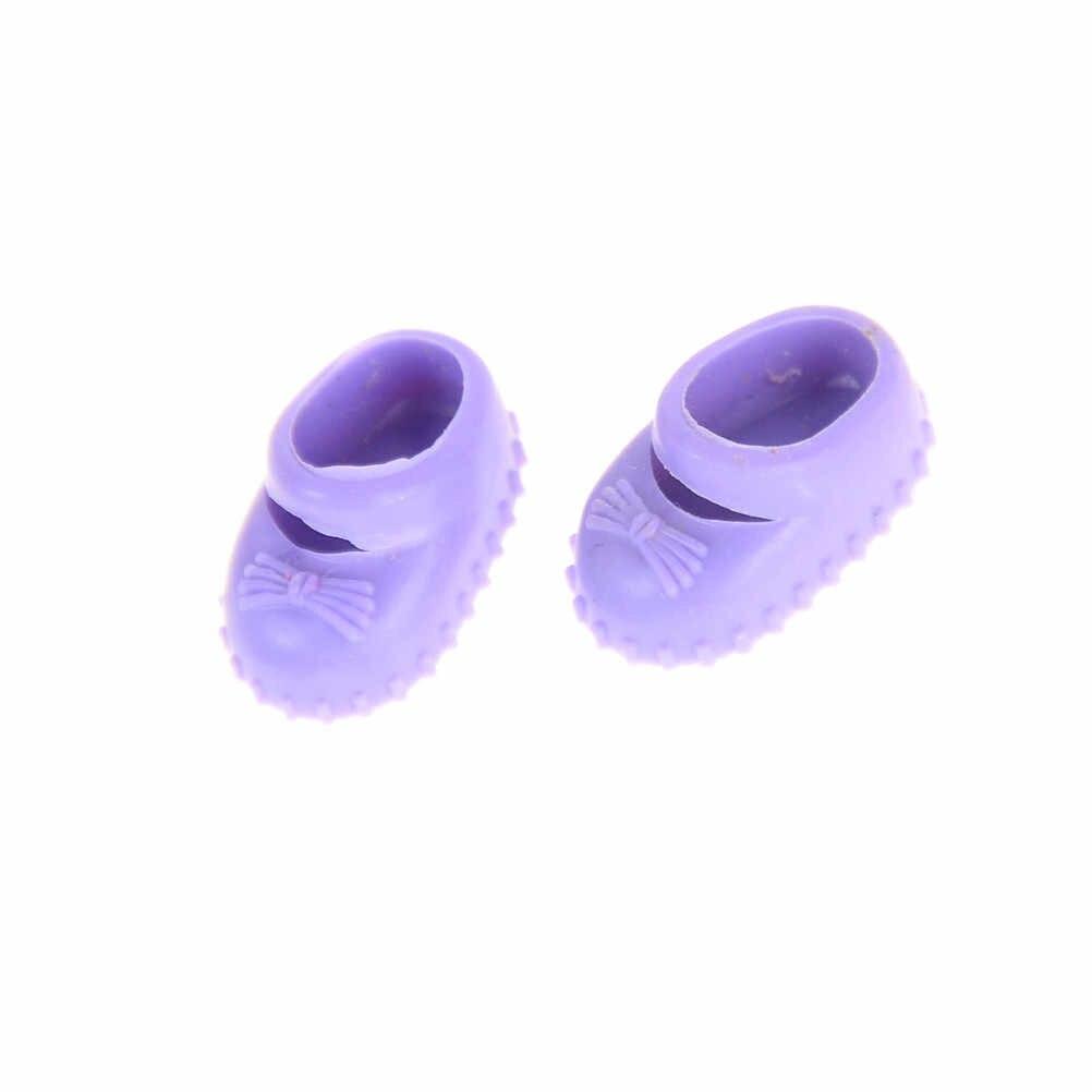 5Pairs Puppe Schuhe Zubehör Kelly Puppe Verwirrt Puppe Schuhe Kinder Geschenk Spielzeug 12cm beste geschenk für mädchen