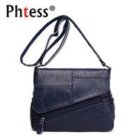 2018 Women Leather Handbags Luxury Brand Bag Shoulder Female Ladies Hand Bags Crossbody Women Messenger Bags