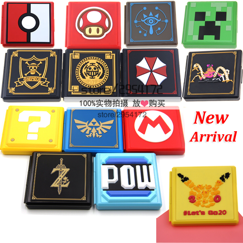 Portable Game Cards Case For Nintend Switch Shockproof Hard Shell Storage Box For Nintend Switch NS Accessories Game Card Box